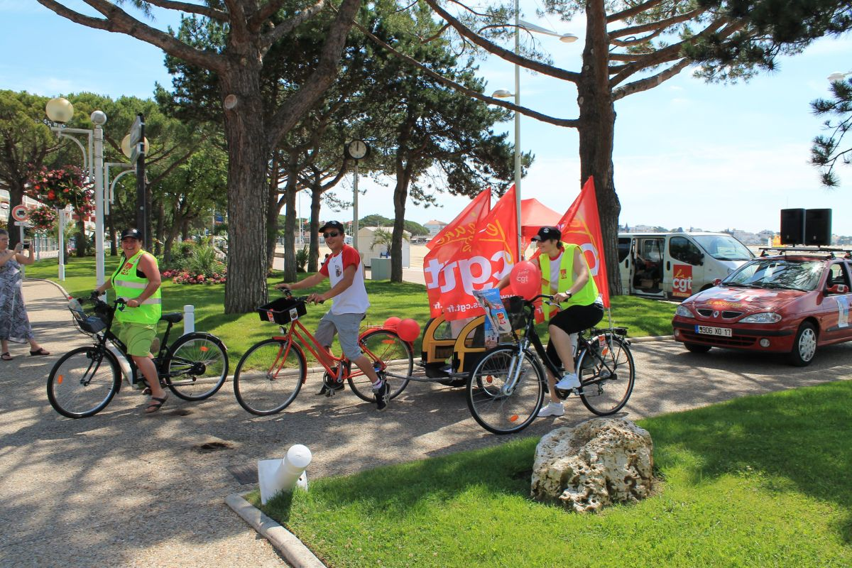 Caravane des saisonniers : initiative réussie pour le Collectif Jeunes Cgt