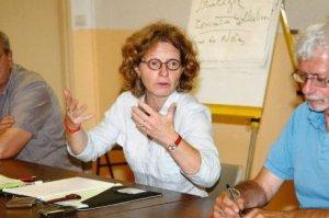 Evelyne VIDEAU, membre du Comité régional en charge de l'animation de l'activité Formation professionnelle et EPFH