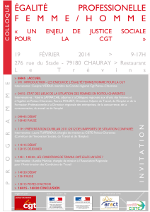 Invitation Colloque 19 Février 2014