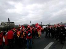 Charente (Syndicats CPAM - Aide à la Personne - dans cortège parisien)