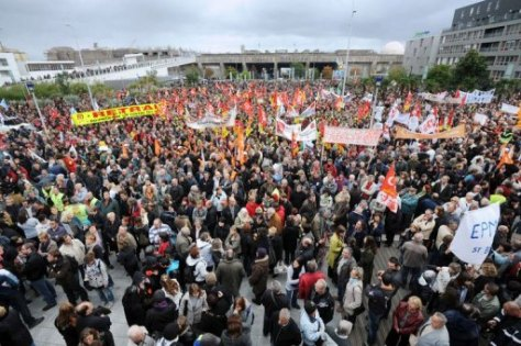 Les rassemblement du 19 octobre 2010, contre la réforme des retraites, avaient rassemblé 3,5 millions de personnes dans toute la France.