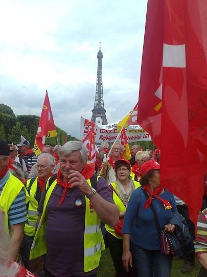 Manifestation 3 juin - Retraités - Paris