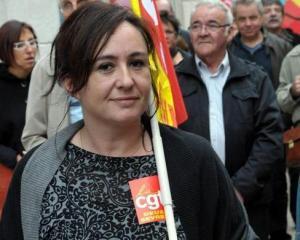Vanessa Couturier, Secrétaire général de l'UD CGT du département des Deux-Sèvre.