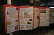Exposition sur l'histoire de la Bourse du Travail de Rochefort.