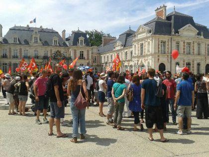 Rassemblement Poitiers.
