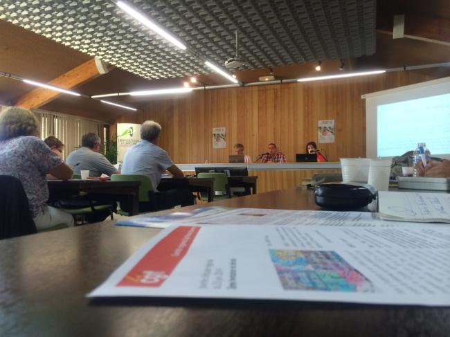 Le 24 juin 2014, la CGT POitou-Charentes a organisé une première journée d'étude sur la réforme territoriale (Etat et collectivités)